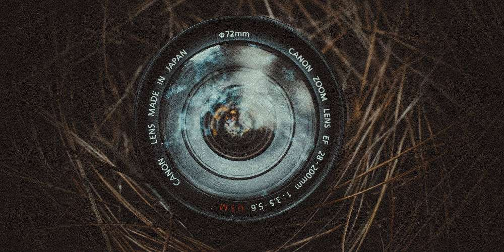 Camera lens looking up - featured image for 'Exposure Matters' an article on FundsIndia Marketplace