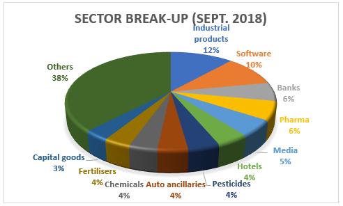 HDFC Small cap Sector Profile